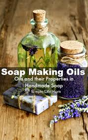 Soap Oil Properties Chart Soap Making Oils And Their Properties Simple Life Mom
