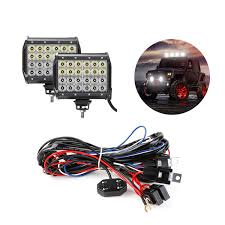 led off road light wiring harness wiring diagram expert 72w cree off road led work light bars wiring harness kit le® led off road light wiring harness
