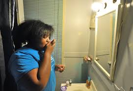 why stress be fueling the childhood asthma epidemic newshour cameron carter 12 takes eight medications every morning to deal her asthma