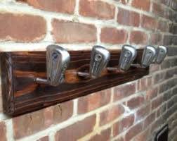 Golf Coat Rack Wooden Wall Mounted Coat Rack Open Travel 88