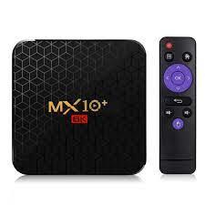 MX10+ MX10 Plus TV Box Android 9.0 Intelligent STB Set Top Box 4GB 32GB 6K  Wifi Media Player TV Receiver Network TV Set top Box|Set-top Boxes