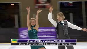 Alexa Linden / Addison Voldeng 2017 SC BC/YK Sectionals - SD ...