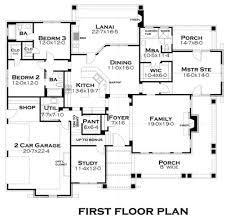 Craftsman Style House Plan  3 Beds 300 Baths 2267 SqFt Plan House Palns