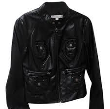 new york company leather jacket image 0