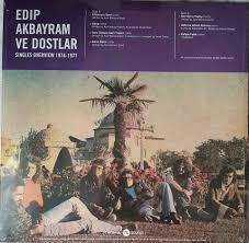 Edip Akbayram ve dostları türkische LP Schallplatte, Türkçe plak in Hessen  - Rodgau