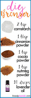 easy homemade bronzer recipe
