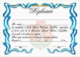 Plantillas De Diplomas De Reconocimiento Para Imprimir Imagui