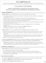 Nurse Resume Objective Registered Nurse Resume Objective Statement