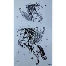 Dočasné Tetování Jednorožec