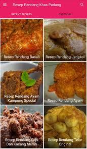 4 lembar daun jeruk purut. Resep Rendang Khas Padang Fur Android Apk Herunterladen