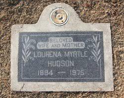 Lourena Myrtle Stubblefield Hudson (1884-1975) - Find A Grave Memorial