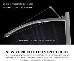 Led Streetlight Nyc Modern Technology Outdoor