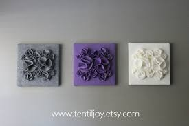 excellent ideas purple and gray wall art three canvases white nursery  on lavender colored wall art with impressive decoration purple and gray wall art floral whispers