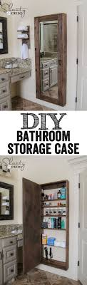mirror bathroom best 25 diy storage mirror ideas on pinterest medicine cabinet