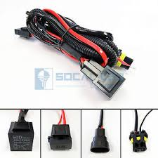 hid relay harness 9006 9005 40a 12v 35w 55w heavy duty wiring HID Wiring Harness Diagram at 55w Hid Wiring Harness