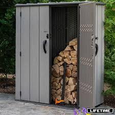 vertical 1 812 litre storage shed