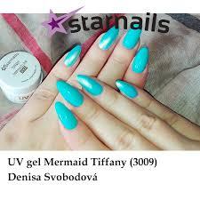 Uvled Gel Mermaid 3009 Tyrkysový 5ml Aurora Efekt