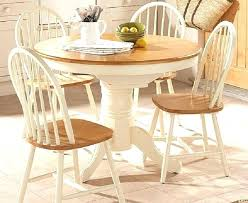 circle wood dining table small circle kitchen table furniture white wooden base round wooden dining table