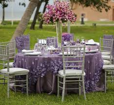 2014 Silver Lavender stylish Cancun all inclusive destination garden wedding  reception decorations