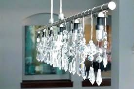 surprising make your own chandelier tutorial to make a contemporary crystal chandelier chandelier lamps plus 8
