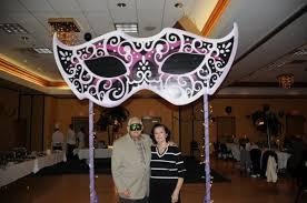 Giant Masquerade Mask Decoration
