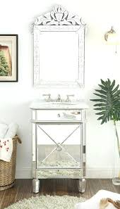 bathroom mirror reflection. Amazing Bathroom Sink And Mirror Reflection Silver Powder Room Vanity Model Above