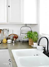 filling up counter space how to decorate a small kitchen how to decorate kitchen counter space