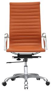 modern office chair leather. Luxury Ideas Tan Leather Office Chair Brilliant Decoration Modern High Back And Camel