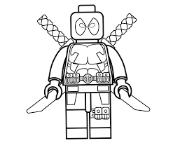 For boys and girls, kids and adults. Cool Lego Deadpool Coloring Page Free Printable Coloring Pages For Kids
