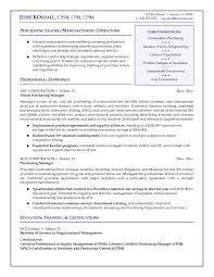Purchasing Manager Resume 9 Suiteblounge Com