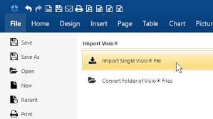 How To Open Vsd Files Free Visio Converter Visio Import Filter Smartdraw