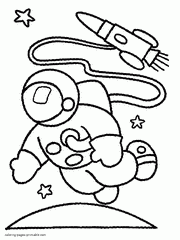 Small Picture SPACE coloring pages