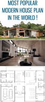 Perfect Most Popular Modern House Plan ! Home Plan, Floor Plan, House Plan,  Architecture