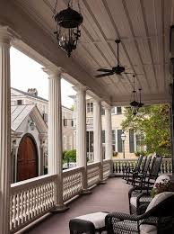 good looking cottage style ceiling fans porch victorian with pendant light column lighting