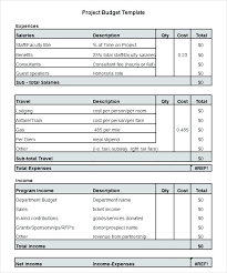 Project Budget Template Xls Project Budget Worksheet Template 3 Free