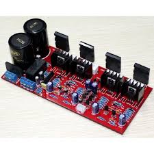 2sa1943 2sc5200 stereo power amplifer 100w