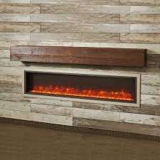 the outdoor greatroom company gallery 64 inch linear built in electric fireplace gbl