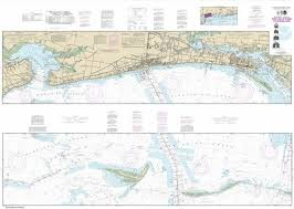 Intracoastal Waterway Nautical Charts Amazon Com Synthetic Media Noaa Chart 11372 Intracoastal