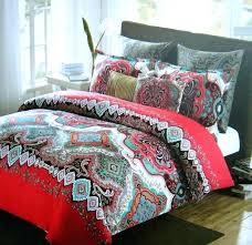 max studio home bedding duvet set full queen 3 piece cover 2 standard shams in paisley max studio home bedding quilt full size