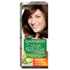 Garnier Light Brown Hair Color Price Garnier Color Naturals 5 Light Brown Haircolor100 Gm