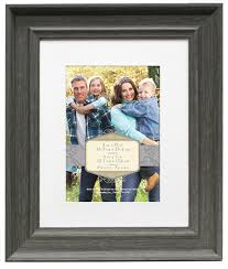 wall frame 8x10 mat to 5x7 rustic gray