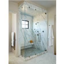 simple glass sliding shower door