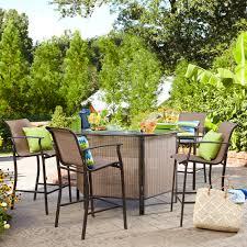 Outdoor Bar Garden Oasis Harrison 5 Piece Bar Set Limited Availability