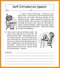 cf self introduction speech essay self reflection essay psychology schools