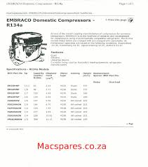wiring diagrams refrigeration macspares wholesale spare parts Air Compressor 240V Wiring-Diagram compressor number to horsepower embraco ; compressor selection; domestic compressor