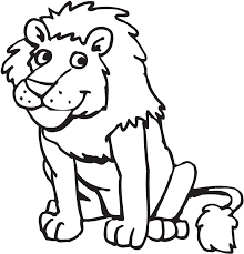 Small Picture Lion Preschool Coloring Pages Zoo Animals Animal Coloring pages