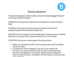This free employment contract template is designed for anyone in the usa that needs to hire hiring new employees is always an exciting process! Severance Agreement Template Free Download