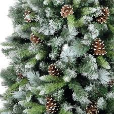 Snowtime 6ft Frosted Glacier Artificial Christmas Tree. Image Image Image  Image
