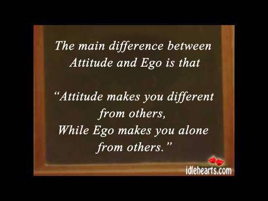 difference between ego and self respect quotes