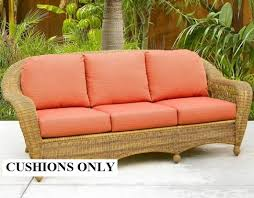 Elegant Replacement Patio Furniture Cushions with Cushion Covers